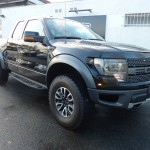 Photo pick up ford F150 noir