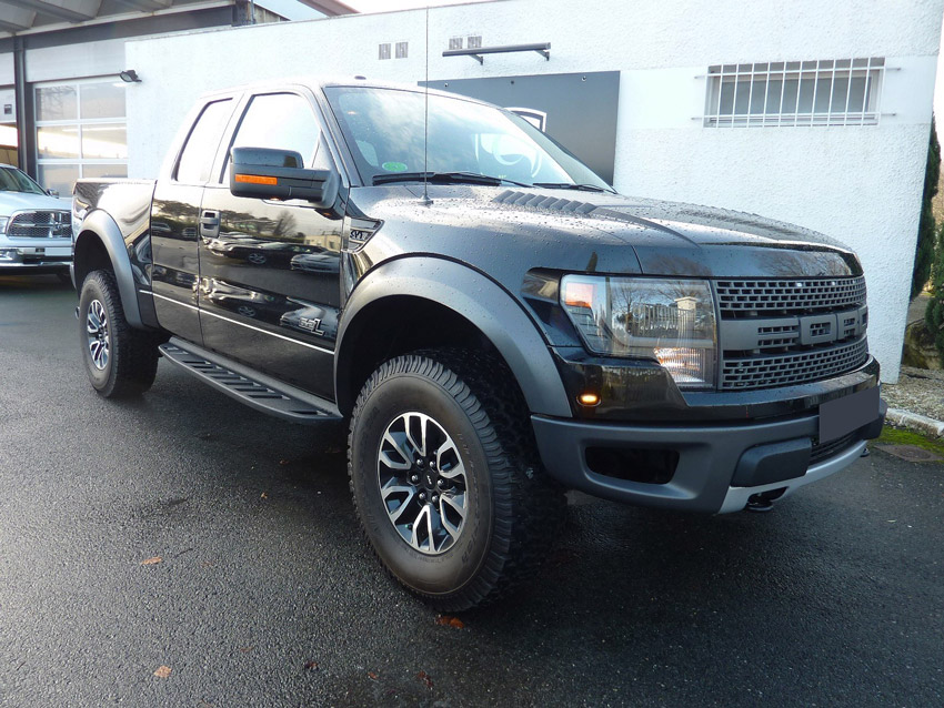 Reportage photo : pick up Ford F150 Raptor