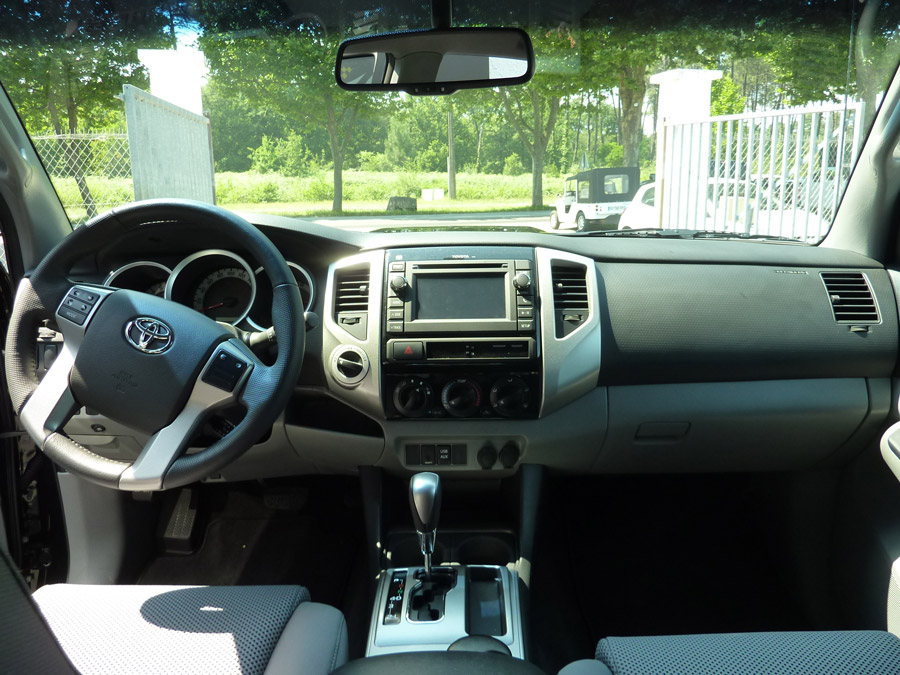 La cabine du pick up Toyota Tacoma