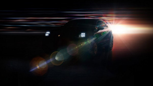 Photo teaser Porsche Macan 2013
