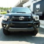 La calandre du pick up Toyota Tacoma