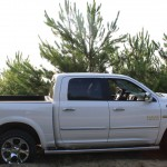 Photo du pick-up Dodge RAM blanc