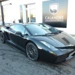 La Lamborghini Galalrdo Superleggera et ses éléments en carbone