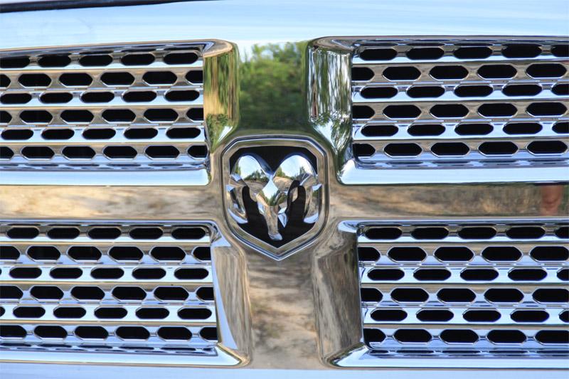 Le logo de Dodge représentant un bélier