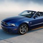 La Mustang 2014 en version décapotable