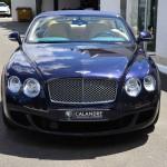 La Bentley Continental GT cabriolet