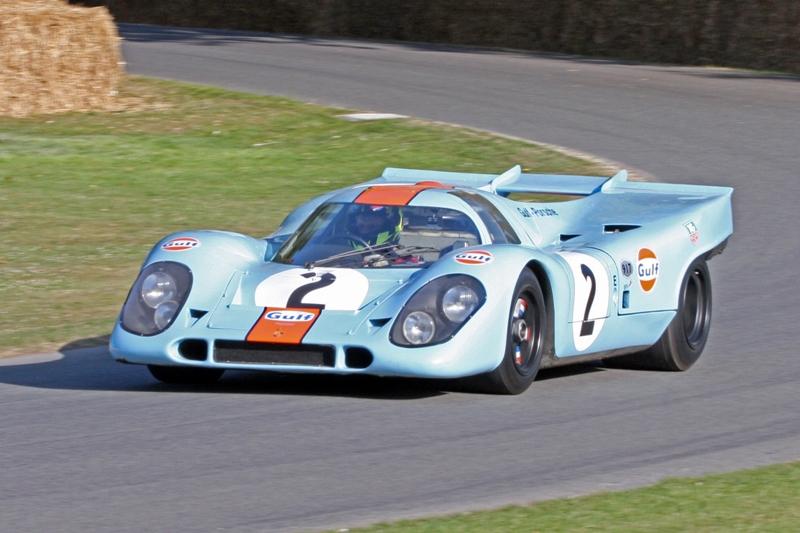 La Porsche 917 de Steve McQueen dans Le Mans