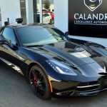 Les lignes épurées et sportives de la Corvette C7 Stingray