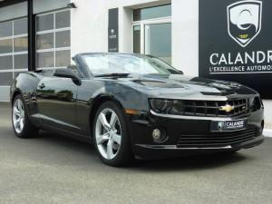 La muscle car Chevrolet Camaro décapotable