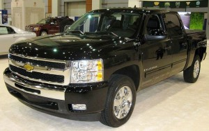 Le pick up Chevrolet Silverado