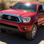 Le nouveau pick up Toyota Tacoma 2015