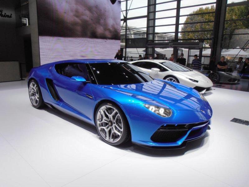 La Lamborghini Asterion est au Mondial de Paris