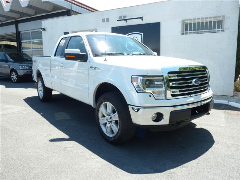 Pick up Ford F150 blanc