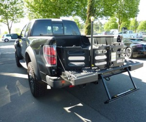 La benne du pick up Ford F150