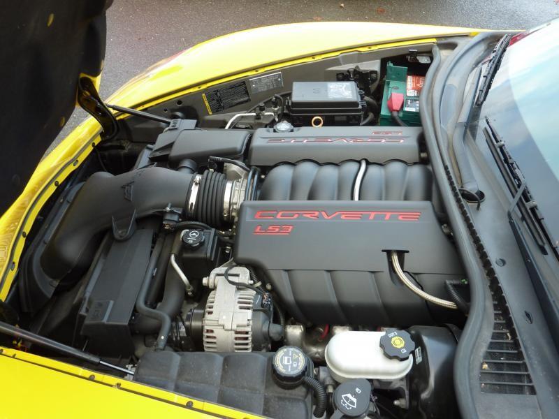 Le V8 de la Corvette ZHZ