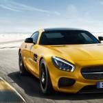 Les lignes racées de la nouvelles Mercedes-AMG GT