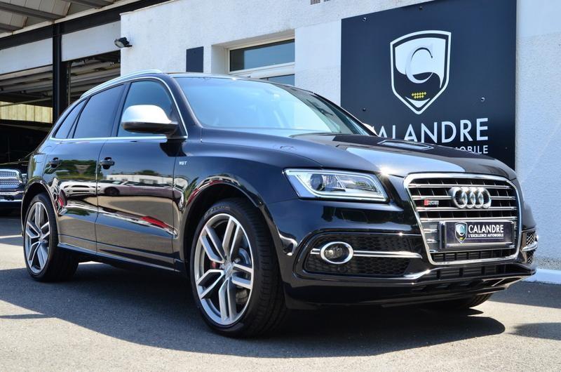 Audi SQ5 2015 noir à vendre