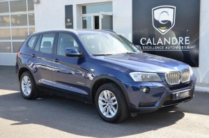 Le SUV compact BMW X3