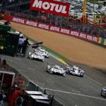 Le départ des 24 heures du Mans