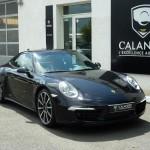 Porsche 991 noire
