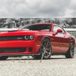 Muscle car Dodge Challenger V8 HellCat