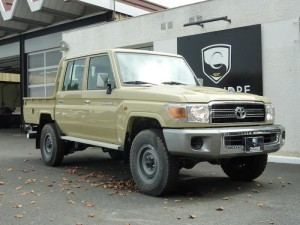 Toyota Land Cruiser pick up