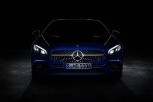 Teaser Mercedes SL Los Angeles