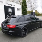 Break Audi RS4 2014 noir