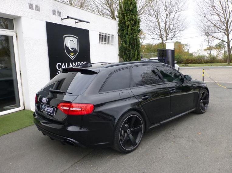 Break Audi RS4 2014 noir