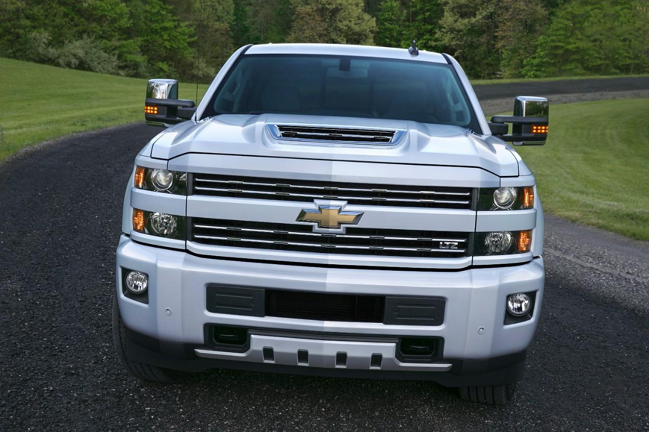 Nouveau Chevrolet Silverado 2017