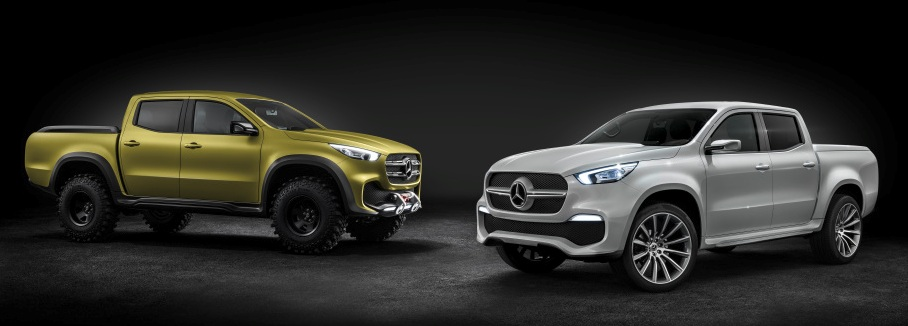 Mercedes Concept X-Class