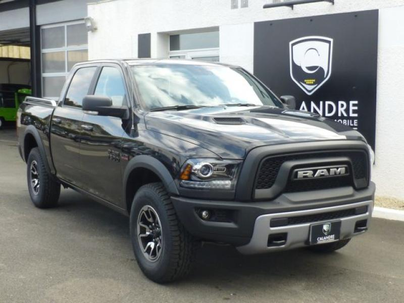 Le Dodge RAM 2016 en version Rebel