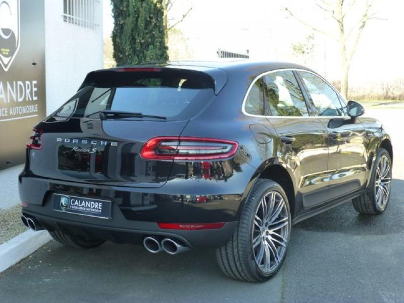 Le Porsche Macan S, l'option sport