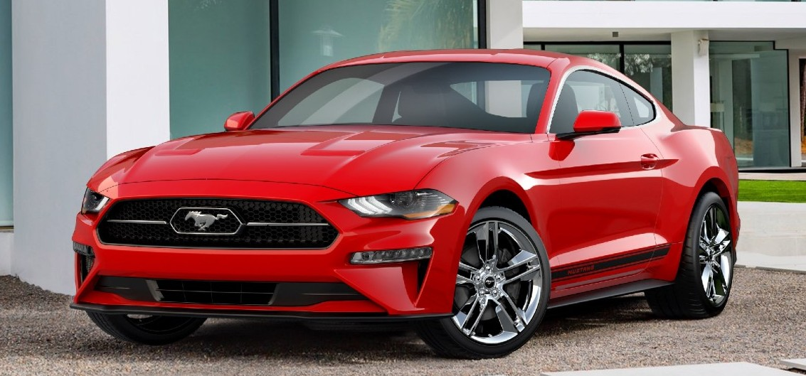 la ford mustang 2018 se dote d un pony package au look r tro. Black Bedroom Furniture Sets. Home Design Ideas