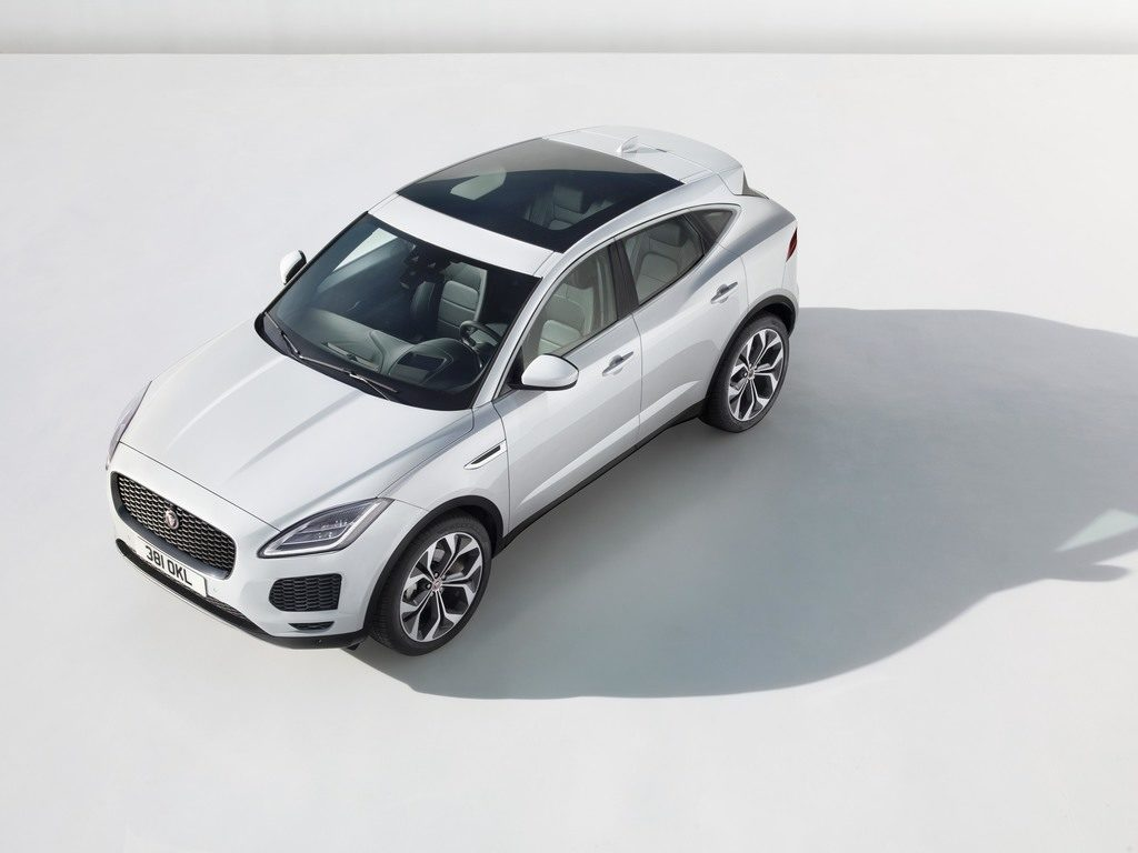 Le Jaguar E-Pace propose un design élégant et sportif