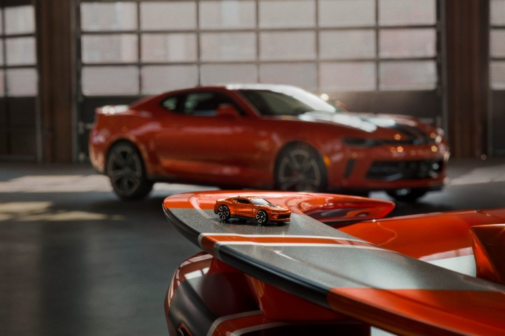 La Chevrolet Camaro Hot Wheels 50th anniversary : quand le jouet prend vie