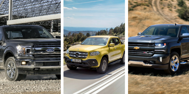Ford, Chevrolet, Mercedes... quels pick up brilleront en 2018 ?