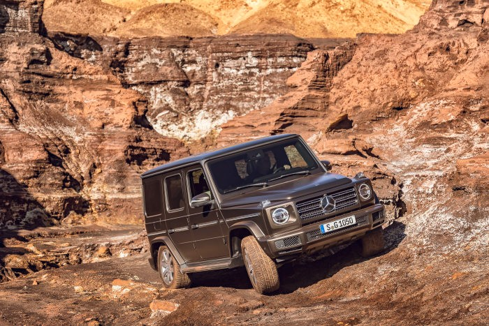 La Mercedes Classe G500 version 2019