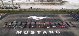 Ford marque l'histoire avec 10 millions de Mustang
