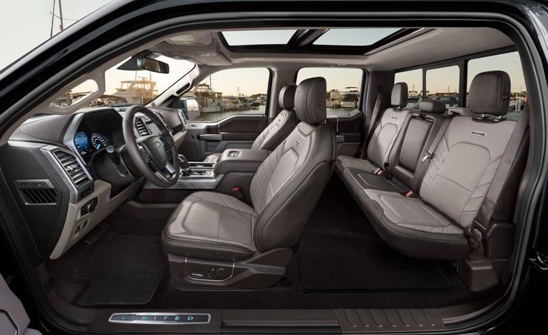Bienvenue dans le Ford F150 Limited 2019 !