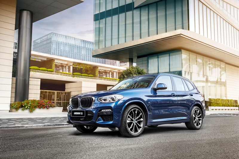 Le BMW X3, SUV polyvalent