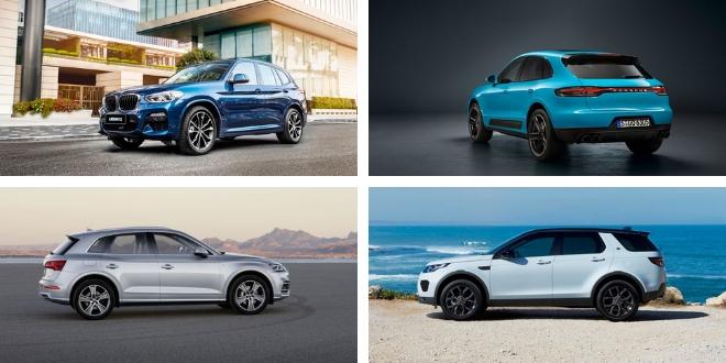 Notre sélection des meilleurs SUV premium 2018