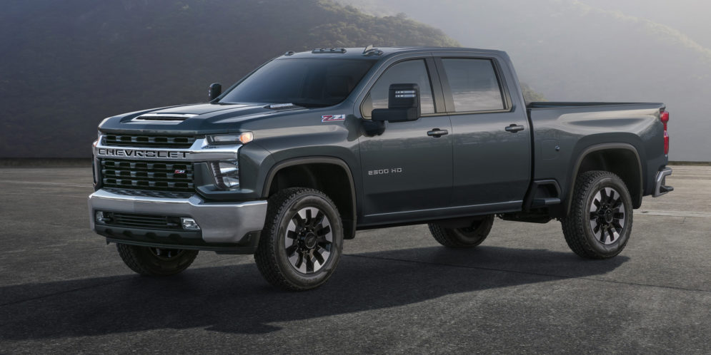 Revue du web des pick up de novembre et décembre 2018 : zoom sur le Chevrolet Silverado Heavy Duty 2020