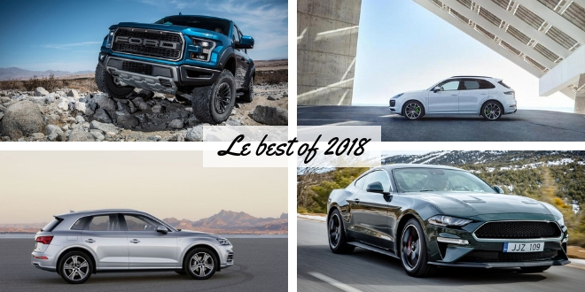 Les actualités marquantes des pick up et des voitures américaines en 2018