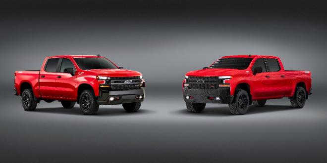 Chevrolet dévoile un pick up grandeur nature en LEGO