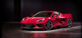 Nouvelle Corvette Stingray 2020 : pour la première fois, un moteur central arrière