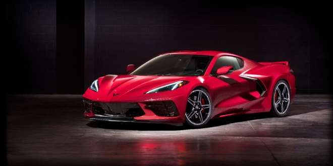 La nouvelle Corvette Stingray 2020