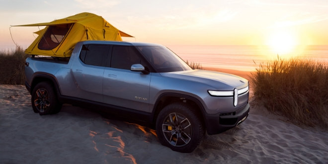 Le pick up électrique Rivian