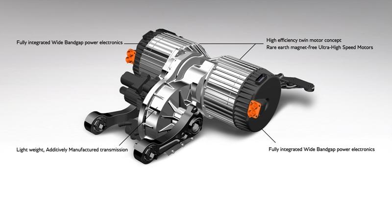 Le projet de moteur électrique recyclable par Bentley